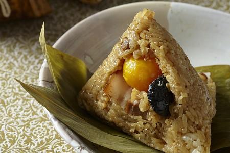 香菇蛋黃粽(線上無販售,請洽店內)